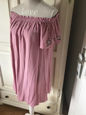 Abercrombie&Fitch Off Shoulder Kleid mit Stickereien neu