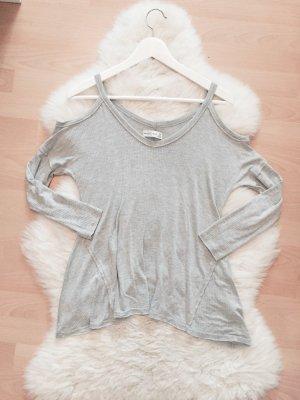 Abercrombie & Fitch Off Shoulder Top Blogger Cold Shoulder Pullover Gr.XS