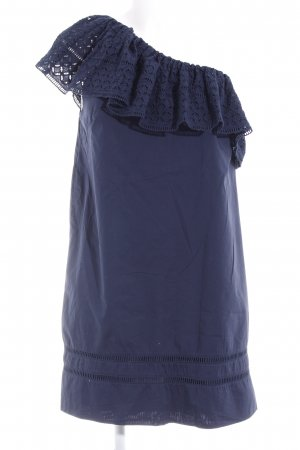 Abercrombie & Fitch One-Shoulder-Kleid dunkelblau Party-Look