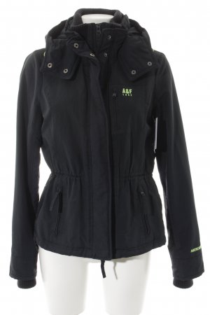 Abercrombie & Fitch Outdoor Jacket dark blue-meadow green simple style