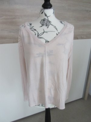 Abercrombie & Fitch oversize Pullover M rose