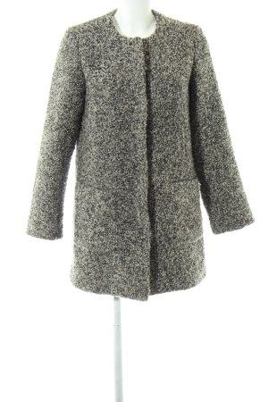 Abercrombie & Fitch Oversized Mantel hellgrau meliert Casual-Look