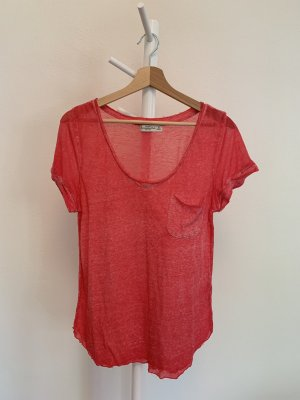 Abercrombie & Fitch Pinkes T-Shirt