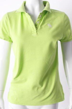 Abercrombie & Fitch Poloshirt grün