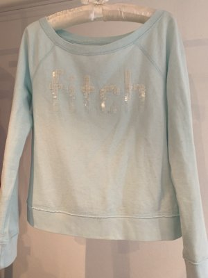 Abercrombie & Fitch Crewneck Sweater azure-baby blue