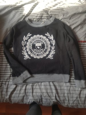 Abercrombie & Fitch Sweater Twin Set white-black