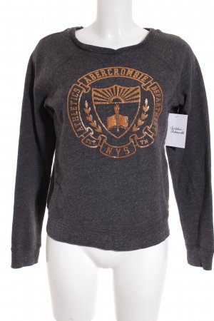 Abercrombie & Fitch Pullover grau Casual-Look