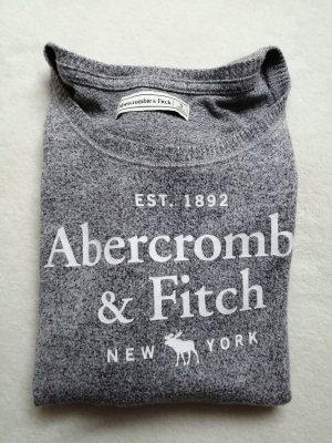 Abercrombie & Fitch Crewneck Sweater white-light grey