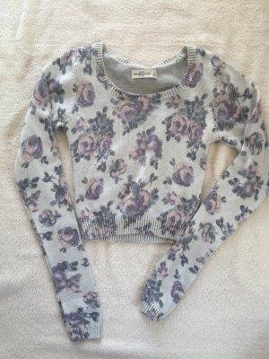 Abercrombie & Fitch Pullover mit Blumen-Muster