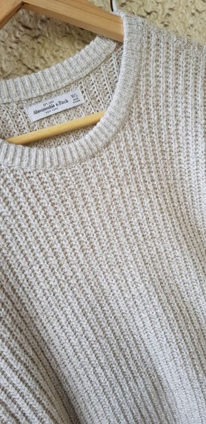 Abercrombie & Fitch Pullover mit Goldfaden