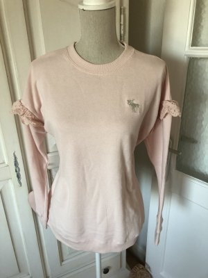 Abercrombie & Fitch Sweater light pink