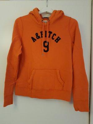 Abercrombie & Fitch Jersey con capucha naranja Algodón