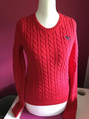 Abercrombie & Fitch Pullover rot S