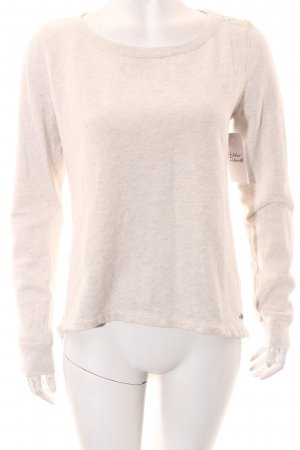 Abercrombie & Fitch Pullover wollweiß Casual-Look