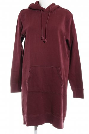 Abercrombie & Fitch Sweater Dress bordeaux casual look