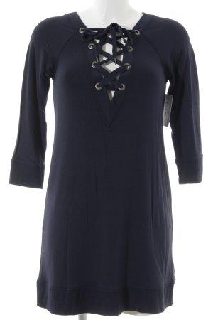 Abercrombie & Fitch Vestido tipo jersey azul oscuro estilo sencillo