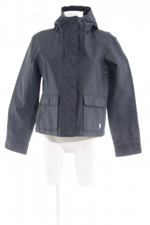 Abercrombie & Fitch Regenjas donkerblauw casual uitstraling