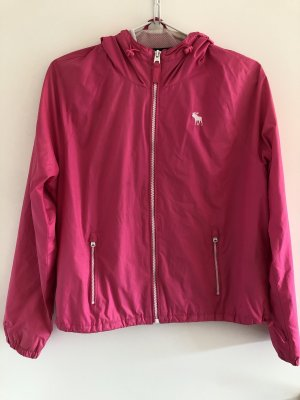 Abercrombie & Fitch Raincoat magenta