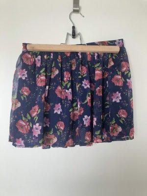 Abercrombie & Fitch Miniskirt dark blue-magenta