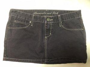 Abercrombie & Fitch Denim Skirt dark brown