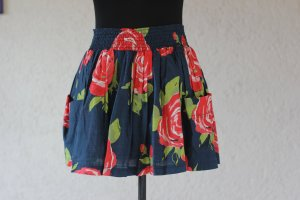 Abercrombie & Fitch Rock, Skater Skirt, Blumenprint, Print, Minirock, blogger