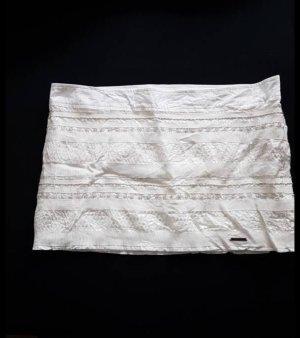Abercrombie & Fitch Rock Skirt Gr. 38 / Gr.8 oder 29 Weiß bestickt