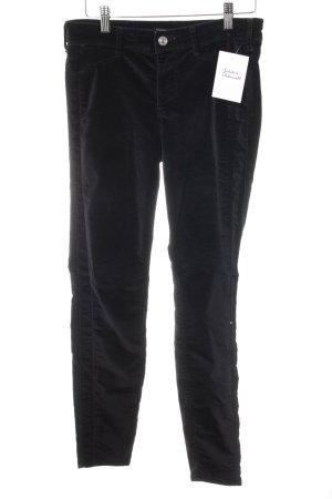 Abercrombie & Fitch Röhrenhose schwarz Casual-Look