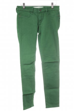 Abercrombie & Fitch Tube Jeans forest green casual look