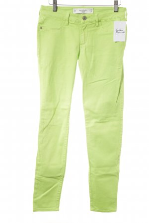 Abercrombie & Fitch Tube Jeans meadow green casual look