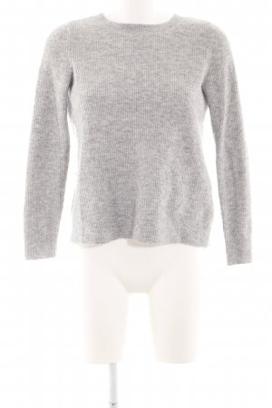 Abercrombie & Fitch Rundhalspullover hellgrau Casual-Look