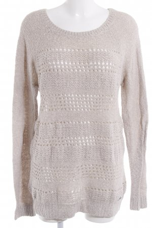 Abercrombie & Fitch Rundhalspullover creme Casual-Look