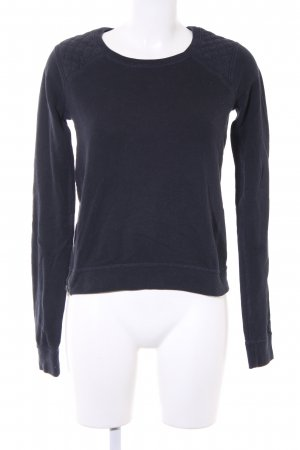 Abercrombie & Fitch Rundhalspullover dunkelblau Casual-Look