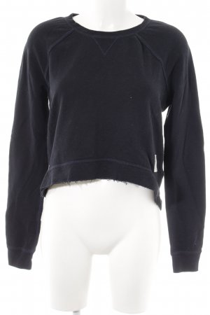 Abercrombie & Fitch Crewneck Sweater dark blue casual look