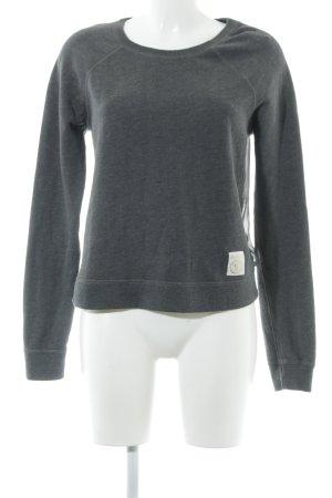 Abercrombie & Fitch Maglione girocollo grigio scuro stile casual