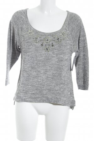 Abercrombie & Fitch Crewneck Sweater light grey casual look
