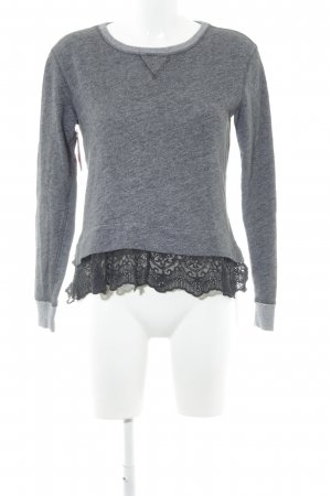 Abercrombie & Fitch Rundhalspullover meliert Casual-Look