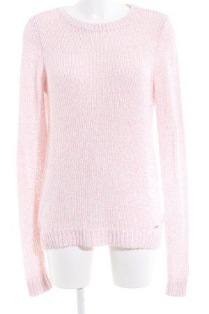 Abercrombie & Fitch Jersey de cuello redondo rosa look casual
