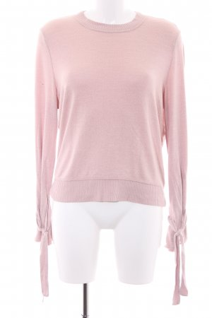 Abercrombie & Fitch Rundhalspullover rosé Casual-Look