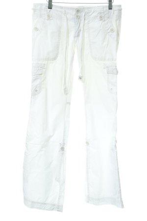 Abercrombie & Fitch Schlaghose wollweiß 90ies-Stil