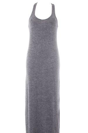 Abercrombie & Fitch Tubino antracite-grigio chiaro puntinato stile casual