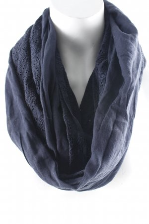 Abercrombie & Fitch Tube Scarf dark blue casual look