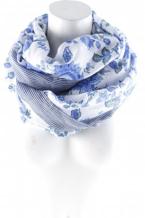 Abercrombie & Fitch Tube Scarf floral pattern casual look