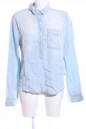 Abercrombie & Fitch Schlupf-Bluse blau Casual-Look