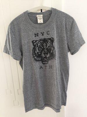 Abercrombie & Fitch Camiseta gris-verde oscuro