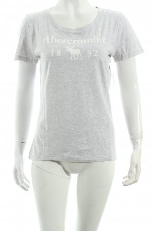 Abercrombie & Fitch Shirt hellgrau Casual-Look