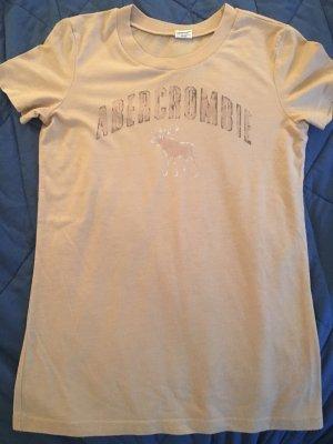 Abercrombie & Fitch Shirt mit Logo und Elch