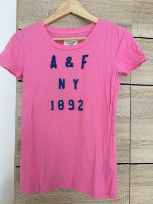 Abercrombie & Fitch Camicia rosa-blu