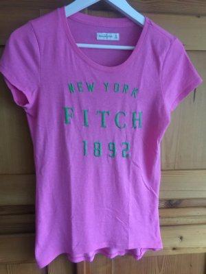 Abercrombie&Fitch Shirt Pink Größe XS