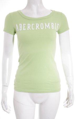 Abercrombie & Fitch Shirt wiesengrün sportlicher Stil