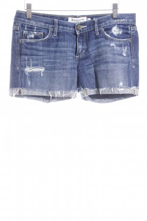 Abercrombie & Fitch Shorts dunkelblau Casual-Look